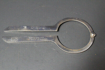 Vintage Perfect Pat Pending Metal Fruit Jar Wrench Lid Opener Kitchen Primitive