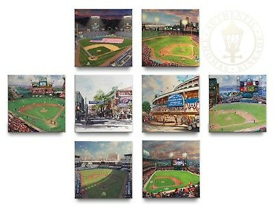 Thomas Kinkade MLB Teams Pick Your Favorite From 8 Choices - 14x14 Gallery Wraps