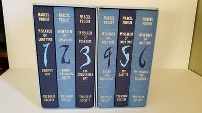 In Search of Lost Time by Marcel Proust (Set of 6) - The Folio Society 2000