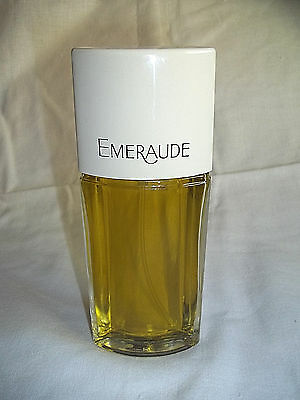 Vintage Emeraude 2.5 oz. Cologne Spray by Coty, Full Bottle