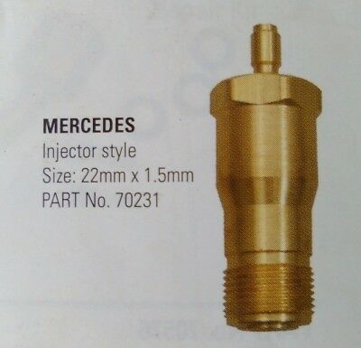 Mercedes Diesel Compression Tester Adaptors  ($10 for both)