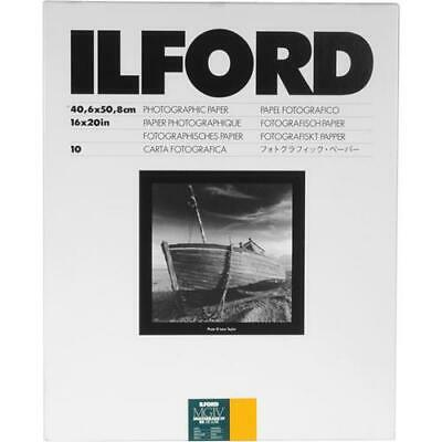 "Ilford Multigrade IV RC Deluxe B  W Enlarging Paper, 16x20""-10 Sheets, Satin"