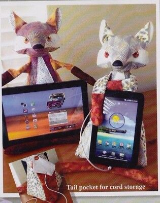 PATTERN - The Fox Stop - stuffed cushion for tablets PATTERN  - Java House
