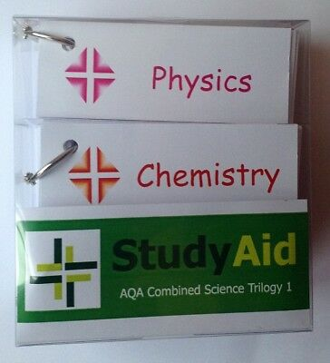 GCSE AQA Combined Science Trilogy 1 Revision Flash Cards