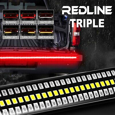 4x Strip Color Changing LED Under Car Tube Underglow Underbody Lights Kit Remote