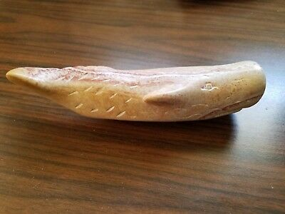 Collectable Vintage Whale Soapstone Figurine Sculpture Hand-Carved in Kenya