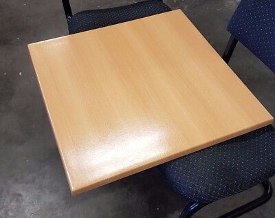 Cafe Table Tops Restaurant Furniture Square Tables Tops 70cm (4 available)