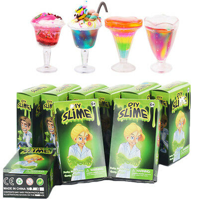 Make Your Own Slime Kit DIY Play Gloop Sensory For Kids Clay Toy Science Games H