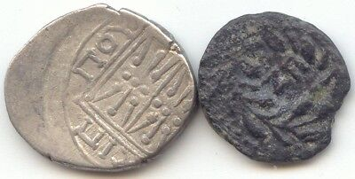 2 Ancient,Roman Judaea 26-36 AD,Greek Illyria 229-30 BC,True Auction,No Reserve