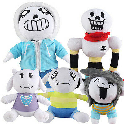 USA STOCK Undertale Sans Plush Doll Baby Soft Toy Stuffed Animals Toy Kids Gift
