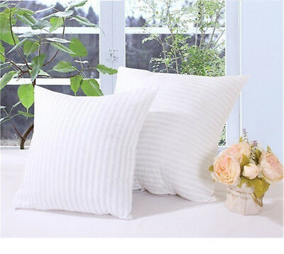 Striped Vacuum Compression Pillow Core Square Pillow Inner Cushion Insert HU