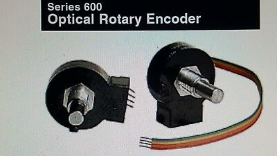 Series 600 Optical Rotary Encoder/Clarostat