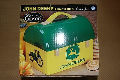 New In The Box John Deere Lunch Box Cookie Jar