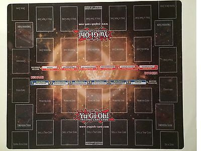 YuGiOh BREAKERS OF SHADOW Card Game Promo Playmat *NEW* 2-Player 20x24 Double