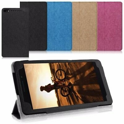 PU Leather Folio Protective Case Cover Stand For Lenovo Phab Plus/Pb1-770