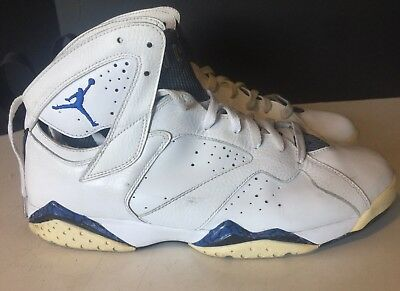 superior quality 1f963 ff3d0 Nike Air Jordan VII 7 Retro DMP ORLANDO Sz 12 MAGIC WHITE ROYAL 304775-161