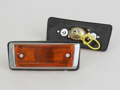 NEW SIDE MARKER TURN SIGNAL LIGHT LAMPS L/R For TOYOTA CELICA ST GT TA22 1972-78