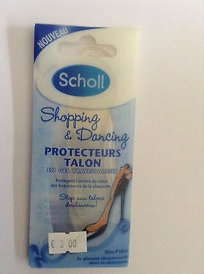 Scholl Protection Talons En Gel Transparent Une Paire