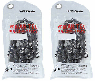 "WAR TEC 12"" Chainsaw Chain Pack Of 2 Fits STIHL 018 MS180 MS181 MS210"