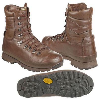 Altberg Brown Combat Boots - Grade 1 - Various Sizes - Cadet - British Army