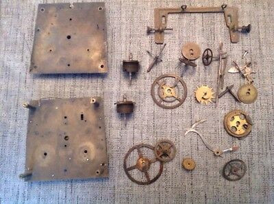 Antique Vienna Wall Clock Movement Gustav Becker Parts Plus Others Spare Parts