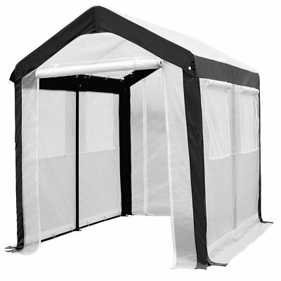 Abba Patio 6 x 8-Feet Large Walk in Fully Enclosed Lawn and Garden Greenhouse