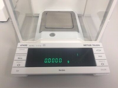 Metter AT400Electronic Analytical Balance, 90 Day Warranty, 0.1mg Readability