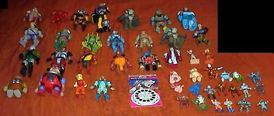 46 Different Figures, 1980s Action Animation, THUNDERCATS, BIONIC 6, SILVERHAWKS