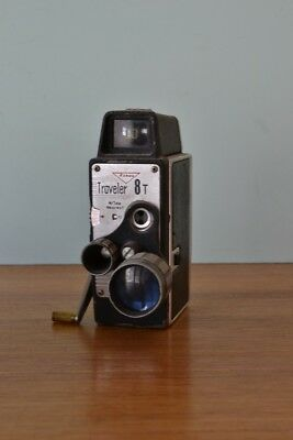 Vintage Rondo Traveler 8 T Movie Camera not tested