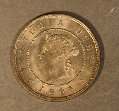 1893 Jamaica Farthing Choice Uncirculated              ** FREE U.S SHIPPING **