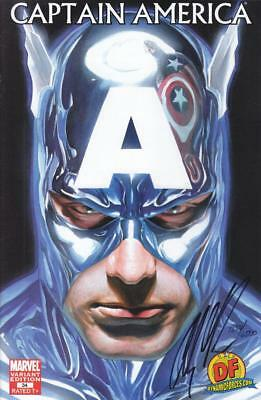 Captain America #34 Dynamic Forces Exclusive Variant Signed By Alex Ross W/ Coa