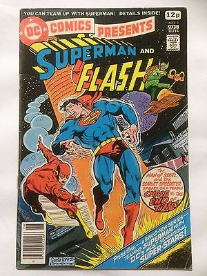 DC Comics Presents SUPERMAN & THE FLASH Issue 1 From 1978  **Free UK Postage**