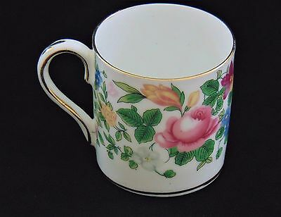 Vintage Staffordshire Fine Bone China Crown Demitasse  New