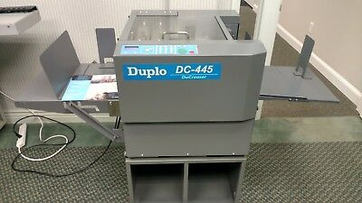 DUPLO DC-445 AUTOMATIC CREASING MACHINE, Horizon, Morgana, Graphic Whizard