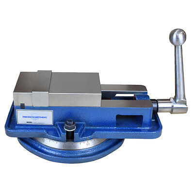 """4"""" Inch High Precision Milling Vise W/swivel Base Knee Mill Or Bench Mill"""
