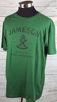 Jameson Irish Whiskey T-Shirt Triple Distiller Sine Metu Size XL New