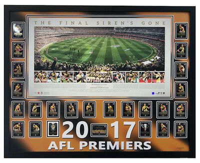 Richmond Tigers The Final Siren Panoramic Edition Framed $899