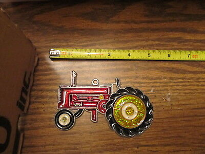 Tractor Suncatcher Sun Catcher Stained Glass-style window hanging
