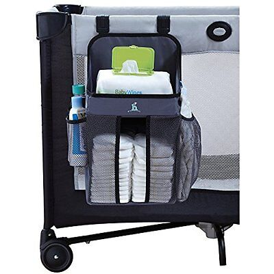 Playard Nursery Organizer And Diapers Baby Caddy Universal Fit For Hanging On