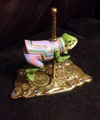 Vintage American Carousel Frog By Tobin Fraley 5th Edition 140 of 9500
