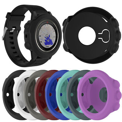 Silicone Protective Wrist Band Watch Case Cover Shock-proof for Garmin Fenix 5X