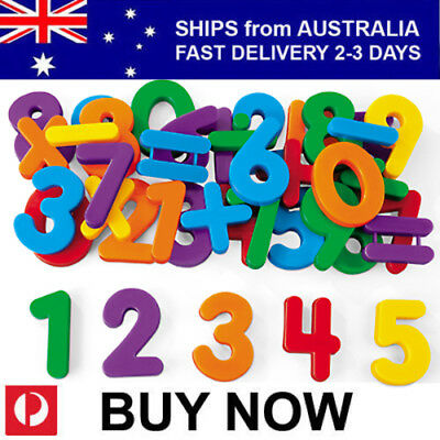 52 Pce EDUCATIONAL TOY MAGNETIC NUMBERS for Kids and Babies