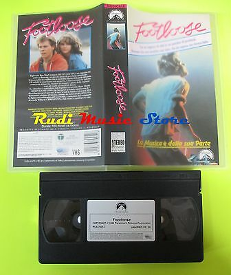 film VHS  FOOTLOOSE Kevin Bacon Lori Singer Paramount 1984    (F20)  no dvd