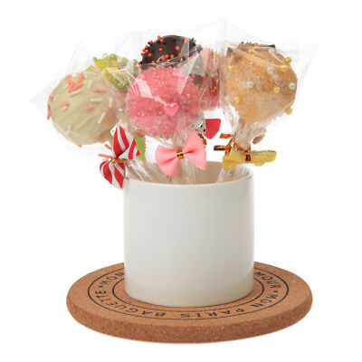 100pc Cello Clear Sweet Lollipop Cake Pop Favor Party Wedding Treat Candy Bags