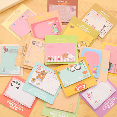 Cartoon Pattern Sticker Post Bookmark It Marker Memo Flags Index Tab Sticky Note