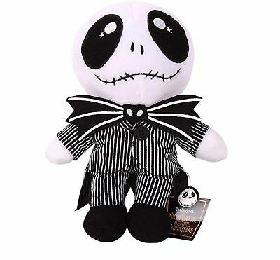 "Hot Nightmare Before Christmas Jack Skellington Plush Soft Toy Doll Gift 8"" UK"