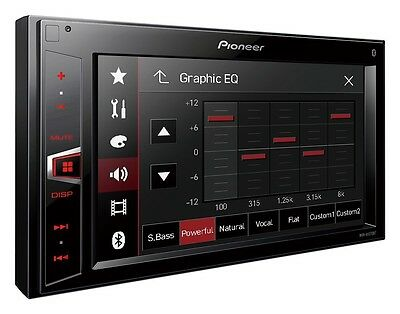 ExDisplay MVH-AV290BT Pioneer MVHAV290BT Car BT iPhone USB Video MVH Touchscreen