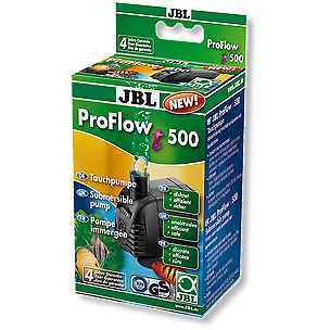 JBL ProFlow t500 - Submersible pump with 200-500 l/h for pumping water in aqu...