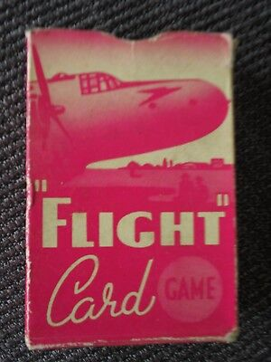 Vintage 1950s Pepys 'FLIGHT' Card Game - COMPLETE - Good Condition!