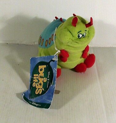 """8""""  Heimlich Caterpillar Soft Toy A Bugs Life Bug's Insect Movie"""